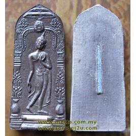 Leela Mahasethi, LP Niwet with Silver Takrut
