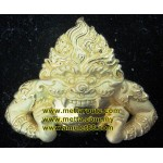 Phra Rahu (sumlit gold plated), LP Kloy. Wat Pukalthong
