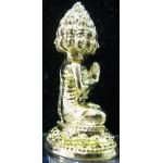 9 Face Buddha (gold), LP Solos, Wat Khok Uthong